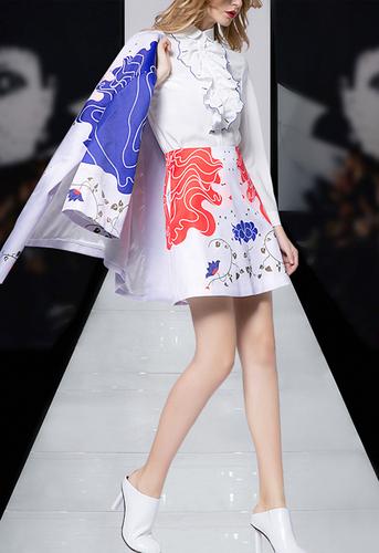 大气传统印花套装